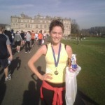 Just finished Longleat 10k in the freeeeezing cold!