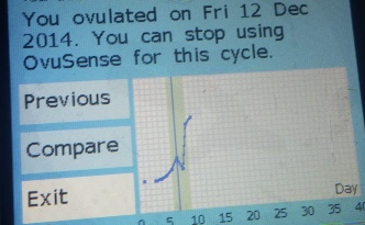 ovusense fertility monitor review