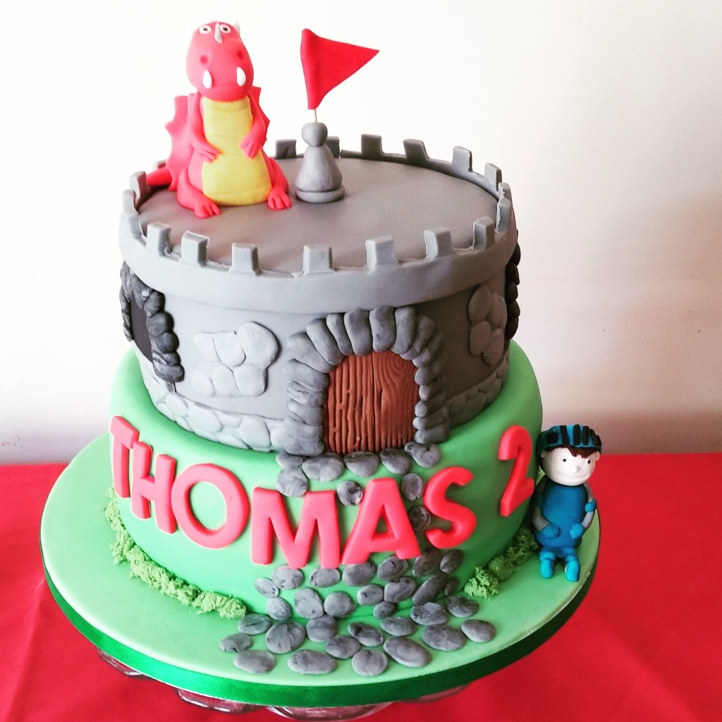 Mike the knight birthday cake